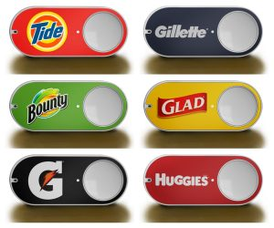 Amazon's Dash button is designed to make reordering easy to do