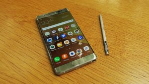 Sansung ran into problems with the launch of the Note 7 phone