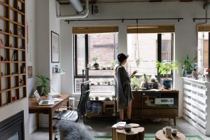 A furnished apartment means that residents have fewer household tasks